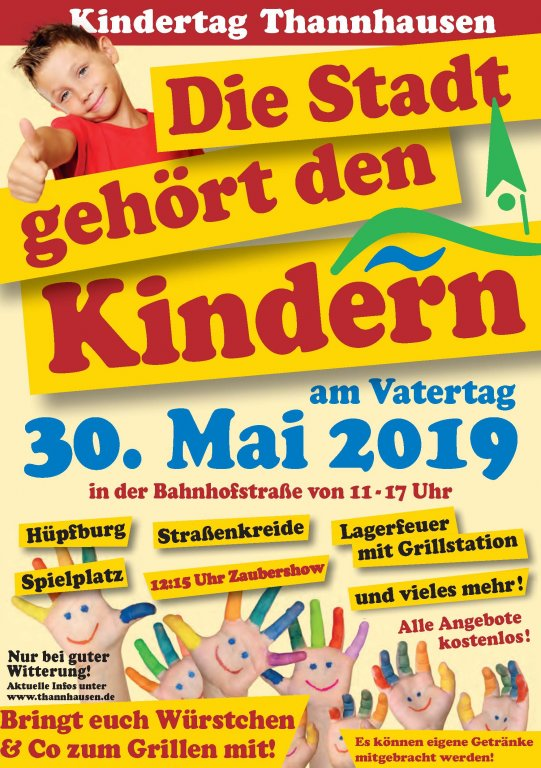 Flyer Kindertag Thannhausen