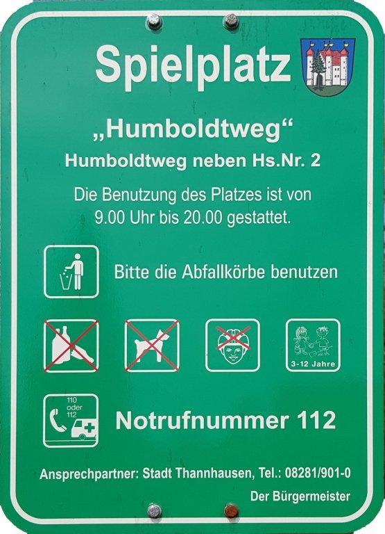 Spielplatz Info