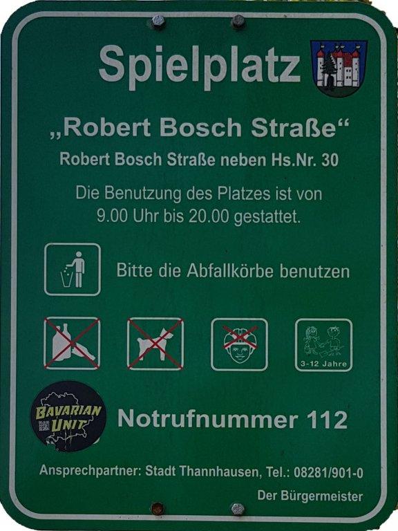 Spielplatz Info Robert Bosch