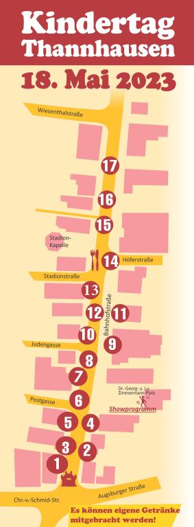 Spielstraße Bahnhofstraße