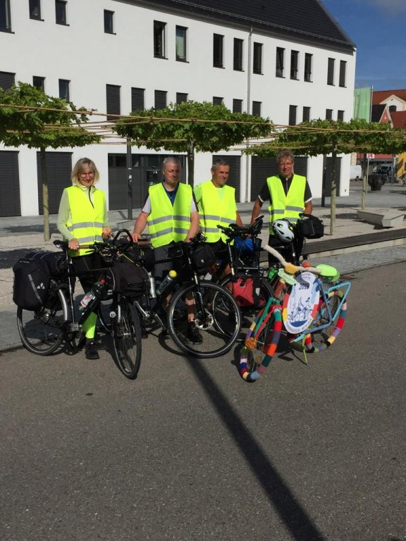 Start der Profis in Thannhausen